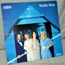 Discos de vinilo: ABBA - VOULEZ-VOUS - LP ALBUM - VINILO 12'' - 10 TRACKS - EDITADO EN FRANCIA - VOGUE - AÑO 1979. Lote 34041087