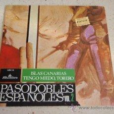 Discos de vinilo: GRAN ORQUESTA DE CONCIERTOS DIR. MAESTRO TEJADA ( ISLAS CANARIAS - TENGO MIEDO, TORERO ) ESPAÑA . Lote 34041295