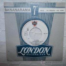Discos de vinilo: BANARANAMA - VENUS - CRUEL SUMMER - SINGLE. Lote 34046979