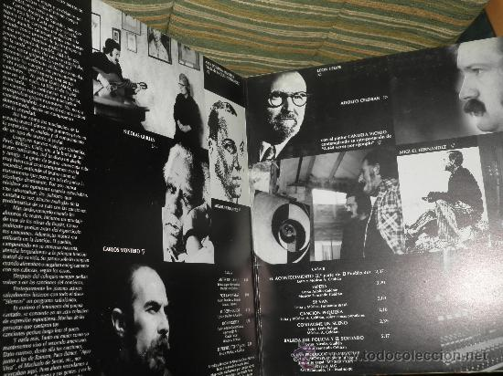 Discos de vinilo: ADOLFO CELDRAN - 4.444 VECES POR EJEMPLO LP ORIGINAL ESPAÑA MOVIEPLAY 1975 PORTADA ABIERTA ENCARTE - Foto 9 - 34049930