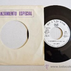 Dischi in vinile: LUIS EDUARDO AUTE - YO PERTENEZCO -PROMOCIONAL- (RCA SINGLE 1968) ESPAÑA. Lote 34049579
