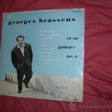 Discos de vinilo: GEORGES BRASSENS ET SA GUITARE Nº 3 LP M25 CM 10 PULGADAS PHILIPS HOL VER FOTO ADICIONAL. Lote 34050613