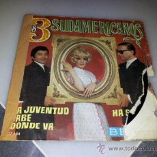 Discos de vinilo: DISCO DE VINILO LOS 3 SUDAMERICANOS . Lote 34051727
