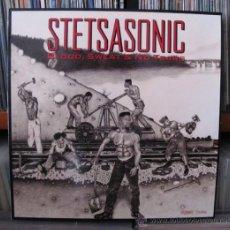 Discos de vinilo: STETSASONIC - BLOOD, SWEAT & NO TEARS LP VINILO HIP-HOP. Lote 41095757