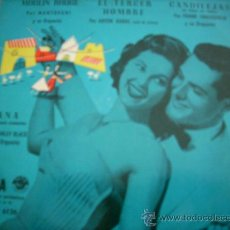 Discos de vinilo: STANLEY BLACK, MANTOVANI, ANTON KARAS, FRANK CHACKSFIELD: ANA + 3 (DECCA, 1956). Lote 34141531