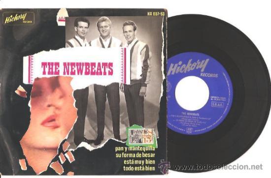 EP THE NEWBEATS - PAN Y MANTEQUILLA/SU FORMA DE BESAR/ESTÁ MUY BIEN/TODO ESTÁ BIEN - ESPAÑA (Música - Discos de Vinilo - EPs - Pop - Rock Internacional de los 50 y 60)