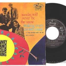 Discos de vinilo: EP SPANKY AND OUR GANG - SUNDAY WILL NEVER BE THE SAME/DISTANCE/MAKING EVERY MINUTE COUNT/... ESPAÑA. Lote 34202592
