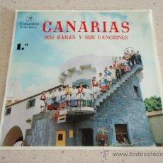 Discos de vinilo: AIRES DEL MAR CONJUNTO DEL PUERTO DE LA CRUZ TENERIFE ( ISAS CANARIAS - FOLIAS CANARIAS - MALAGUEÑAS. Lote 34041509