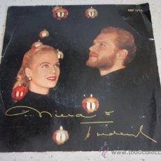 Discos de vinilo: NINA & FREDERIK (JE NE CROIS PLUS AU PÉRE NOËL - MARY'S BOY CHILD - SCHLAFE MEIN PRINZCHEN - . Lote 34060349