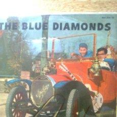 Discos de vinilo: BLUE DIAMONDS, THE - NEAR YOU + 3 (EP, FONTANA, 1960)... CON CARPETA PROMO ORIGINAL. Lote 34062881