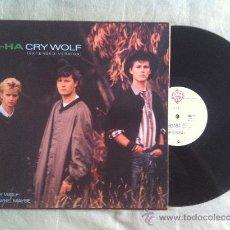"""Discos de vinilo: 12"""" MAXI-A-HA-CRY WOLF. Lote 34070797"""