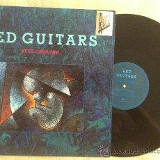 "Discos de vinilo: 12"" RED GUITARS-BLUE CARAVAN. Lote 34071943"