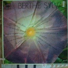 Discos de vinilo: BERTHE SYLVA - LES ROSES BLANCHES - ARRETER LES AIGEULLES - .... Lote 34077537
