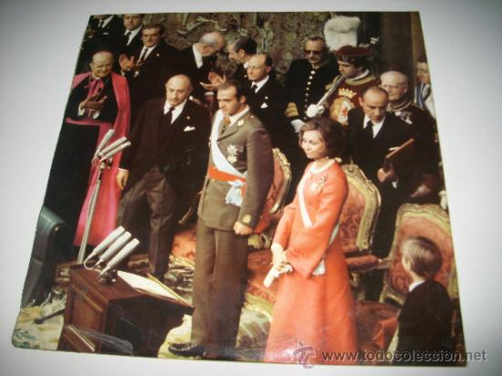 Discos de vinilo: HORAS PARA LA HISTORIA (1975 Fonogram España) FRANCISCO FRANCO JUAN CARLOS I BORBON - Foto 2 - 34073619