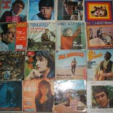 Discos de vinilo: LOTE DE 30 DISCOS EPES Y SINGLES SOLISTAS ESPAÑOLES AÑOS 60 ( VER TOTAL EN FOTO ADICIONAL) LOTE 1. Lote 34075948