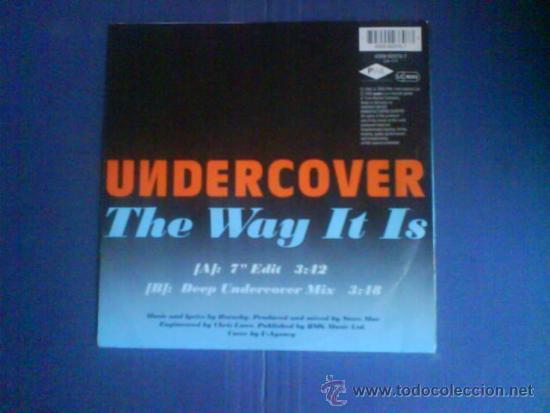 Discos de vinilo: UNDERCOVER THE WAY IT IS - Foto 2 - 34077148