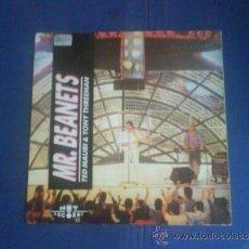 Disques de vinyle: TED MAURI & TONY THREEMAN MR. BEANETS PROMO. Lote 34079813