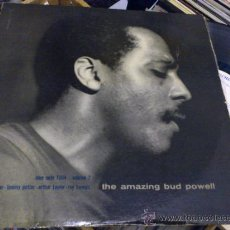 Discos de vinilo: THE AMAZING BUD POWELL BLUE NOTE 1504 VOLUME 2 LP VINILO ORIGINAL GEORGE DIVUVIER POTTER TAYLOR ETC. Lote 34080704