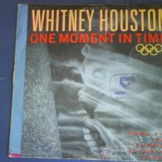 Discos de vinilo: WHITNEY HOUSTON ONE MOMENT IN TIME . Lote 34092455