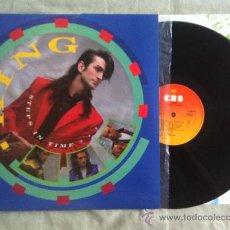 Discos de vinilo: LP-KING-STEP IN TIME. Lote 34093465