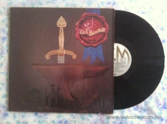 LP RICK WAKEMAN-THE MYTHS AND LEGENDS OF KING ARTHUR... (Música - Discos - LP Vinilo - Pop - Rock - Extranjero de los 70)