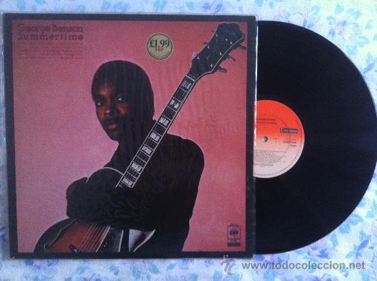 LP GEORGE BENSON-SUMMERTIME (Música - Discos de Vinilo - EPs - Pop - Rock Extranjero de los 70)