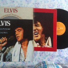 Discos de vinilo: LP ELVIS-A LEGENDARY PERFORMER VOLUMEN 1. Lote 34099762