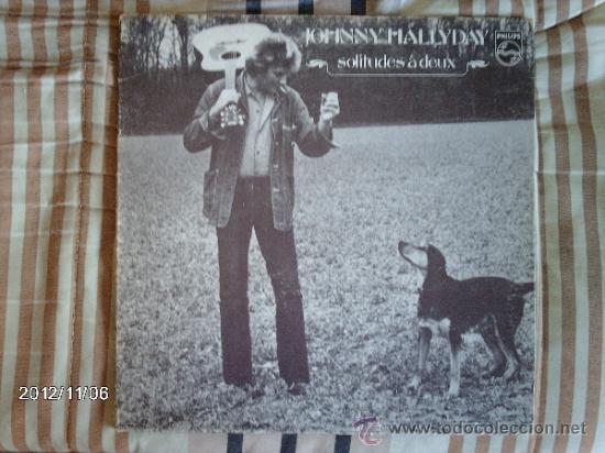 JOHNNY HALLYDAY - SOLITUDES A DEUX (Música - Discos - LP Vinilo - Rock & Roll)