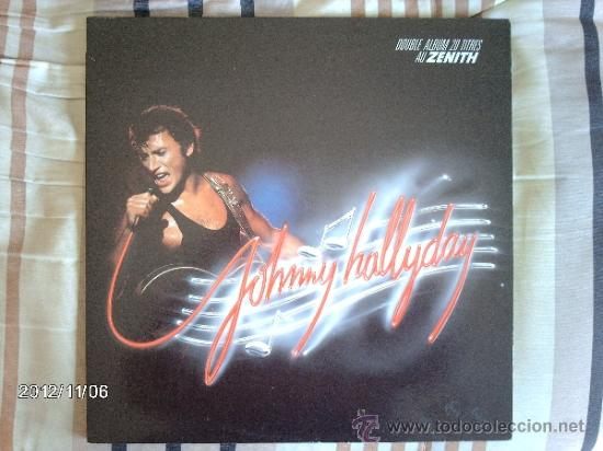 JOHNNY HALLYDAY - AU ZENITH (Música - Discos - LP Vinilo - Rock & Roll)