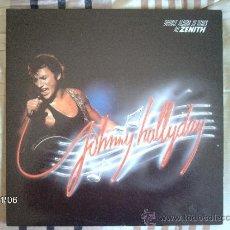 Discos de vinilo: JOHNNY HALLYDAY - AU ZENITH . Lote 34116005