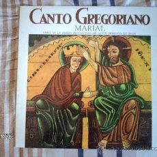Discos de vinilo: CORO DE LA ABADIA BENEDICTINA DE SANTO DOMINGO DE SILOS - CANTO GREGORIANO - MARIAL . Lote 34116225