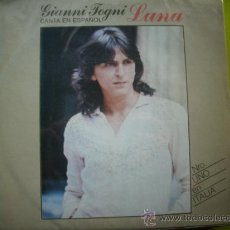 """Disques de vinyle: GIANNI TOGNI LUNA/CHISSA SE MI RITROVERAI 7"""" SINGLE 1980 EPIC PEPETO. Lote 34105634"""