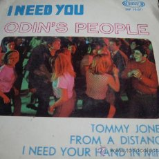 Discos de vinilo: ODIN,S PEOPLE-I NEED YOU+3-EDICION ESPAÑOLA. Lote 34108118