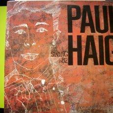 Discos de vinilo: PAUL HAIG SWING IN 82 LP 1985 ACCIDENTAL ED ESPAÑOLA PEPETO. Lote 34109228