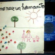 Discos de vinilo: COMO NACE UN HERMANITO. JOAQUÍN PAREJO DIAZ. MARIBEL SÁNCHEZ. EMI. 1971. Lote 34113949