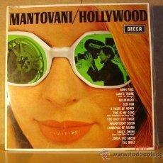 Discos de vinilo: MANTOVANI - HOLLYWOOD - DECCA LK 4887 - 1967. Lote 34117235