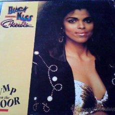Discos de vinilo: BLACK KISS CHERITA, JUMP ON THE FLOOR - MAXI SINGLE 3 TEMAS. Lote 34118776
