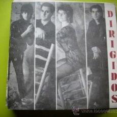 Discos de vinilo: DIRIGIDOS - VEN Y ABRAZAME / RIMMEL./SINGLE FONOMUSIC 1986 PEPETO. Lote 34120525