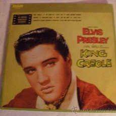 Discos de vinilo: ELVIS PRESLEY, KING CREOLE, RCA,1976. Lote 34125517