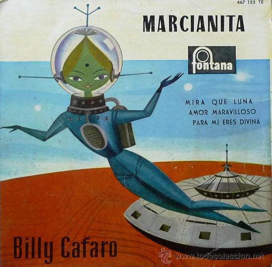 BILLY CAFARO MARCIANITA - EP (Música - Discos - Singles Vinilo - Canción Francesa e Italiana)