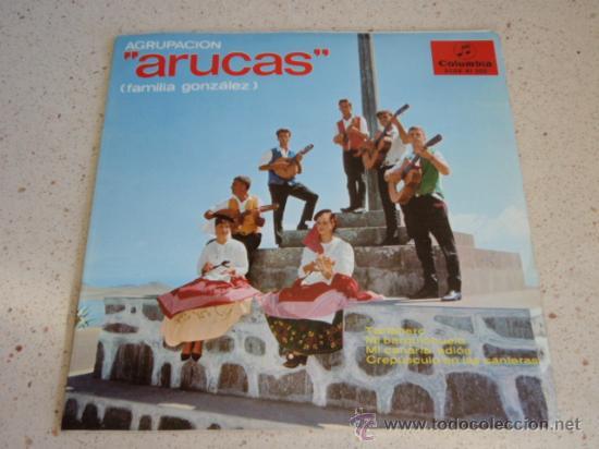 AGRUPACION ARUCAS ( FAMILIA GONZALEZ ) CANTA QUECHA GONZALEZ ( TARTANERO - MI BARQUICHUELO - MI CA (Música - Discos de Vinilo - EPs - Grupos Españoles 50 y 60)