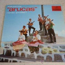 Discos de vinilo: AGRUPACION ARUCAS ( FAMILIA GONZALEZ ) CANTA QUECHA GONZALEZ ( TARTANERO - MI BARQUICHUELO - MI CA. Lote 34130702