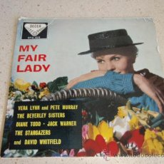 Discos de vinilo: THE BEVERLY SISTERS ( WOULDN'T IT BE LOVERLY ) VERA LYNN & PETE MURRAY ( THE RAIN IN SPAIN ) 1958 . Lote 34131832