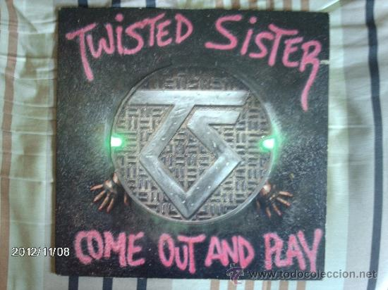TWISTED SISTER - COME OUT AND PLAY (Música - Discos - LP Vinilo - Heavy - Metal)