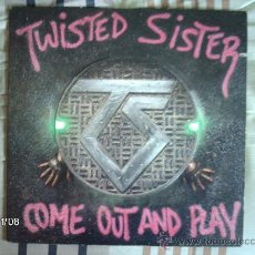 Discos de vinilo: TWISTED SISTER - COME OUT AND PLAY . Lote 34135872