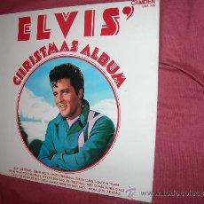 Discos de vinilo: ELIVIS PRESLEY LP ELVIS' CHRISTMAS ALBUM -1970 NAVIDAD LP RCA ENGLAND VER FOTO ADICIONAL. Lote 34134281