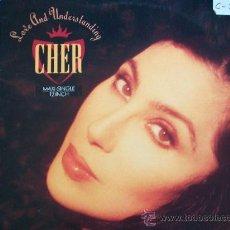 Discos de vinilo: CHER,LOVE AND UNDERSTANDING DEL 91. Lote 34134782