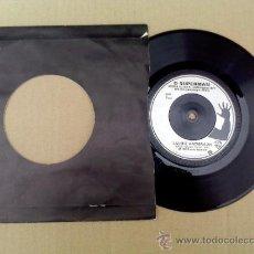 Discos de vinilo: LAURIE ANDERSON/ O SUPERMAN/WALK THE DOG.. Lote 237499740