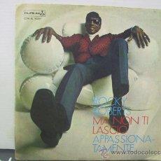 Discos de vinilo: ROCKY ROBERTS - MA NON TI LASCIO / APASSIONATAMENTE - EDICION ITALIANA - DURIUM 1969. Lote 34147274