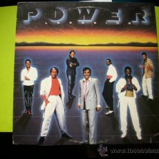 Discos de vinilo: POWER / LAKESIDE / LP 1987 USA SOUND OF THE LOS ANGELES RECORDS. Lote 34151261